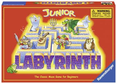 See mäng on mõeldud 2 - 4 mängijale. Mängukarp sisaldab: 1 mängualus, 17 labürindi kaarti, 12 aardenuppu, 4 vaimu, mängureeglid. Mängu põhimõte: Saladusliku kindluse müüride vahel juhtub imelikke asju. Seal elavad sõbralikud vaimud ja asuvad aarded, kuid neid on väga raske leida, sest nad liiguvad. Mängijate ülesandeks ongi leida need saladuslikud objektid sellest keerulisest labürindist. Juhend inglise ja eesti keeles.